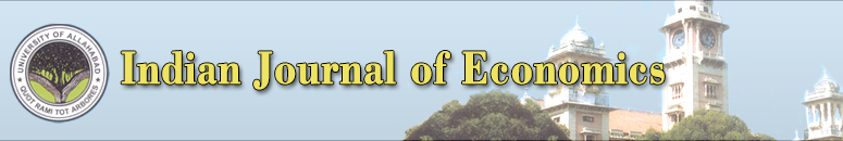 The Indian Journal of Economics